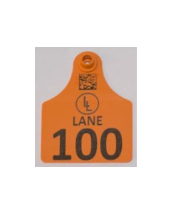 Calf Tags with Numbers +  Ranch Logo + Ranch Name/Phone