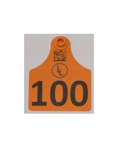 Calf Tags with Numbers +  Ranch Logo
