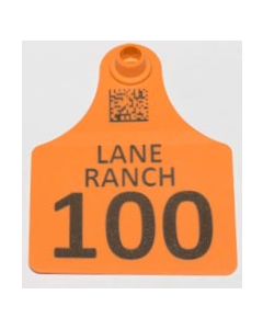 Calf Tags with Numbers + Ranch Name + Phone No.
