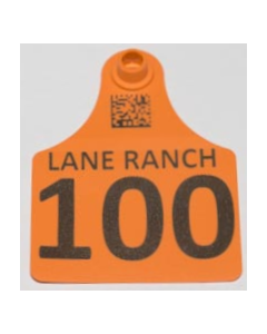 Calf Tags with Numbers + Ranch Name