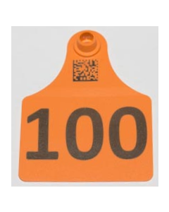 Calf Tags with Numbers Only + Space for 1 Line of Text