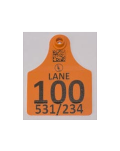 Calf Tags with Numbers + Ranch Logo + Sire/Dam